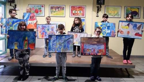 Ausstellung der Kunst-AG